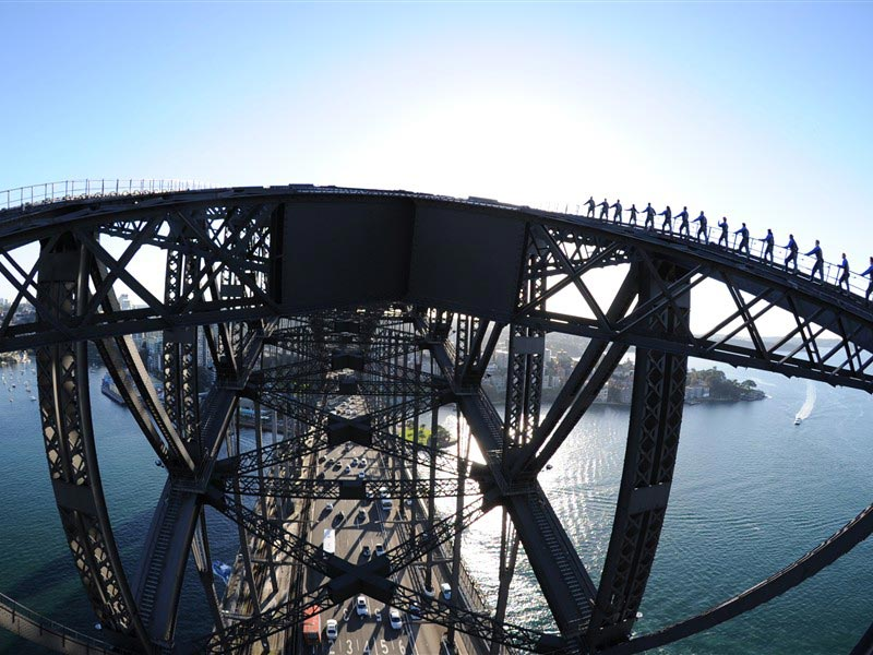 Sidney Bridge Climb-2
