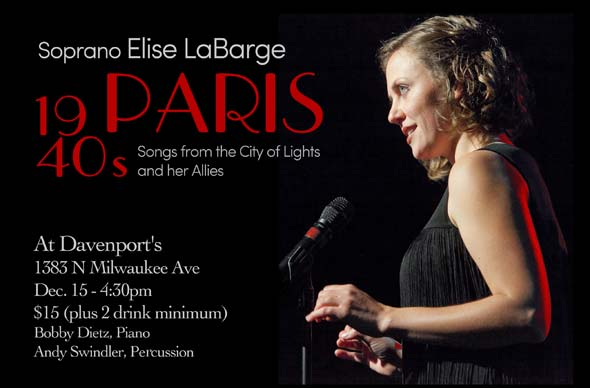 Chicago Singer - Cabaret, Lessons and Weddings